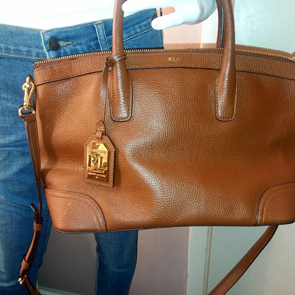 c3112ad90ed Ralph Lauren RRL Bags   Lauren By Ralph Lauren Leather Purse   Poshmark